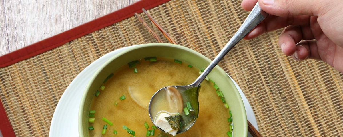 Earth Cafe Miso Soup